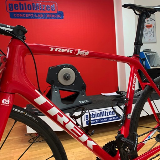 Trek Madone im Bike Fitting in Berlin.